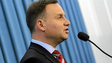 Andrzej Duda jak poseł
