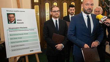Jacek Sutryk powołał nowego wiceprezydenta. To Adam Zawada, dotychczasowy wiceprezes spółki zarządzającej miejskim stadionem.
