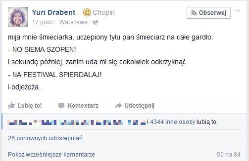Konkurs Chopinowski oglądają wszyscy...