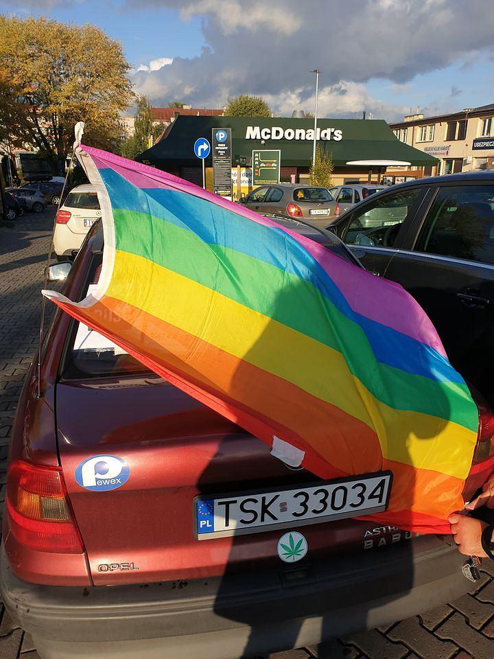 Ostra Jazda. Protest w Kielcach.