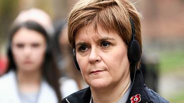 Nicola Sturgeon, pierwsza minister Szkocji.