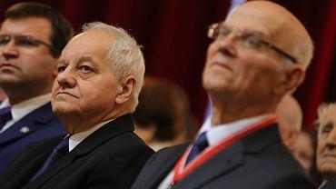 Prof. Ryszard Sudziński i prof. Jan Hanasz