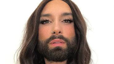 Conchita Wurst po metamorfozie. Jak wygląda w krótkich włosach? Jest nie do poznania (zdjęcie ilustracyjne)