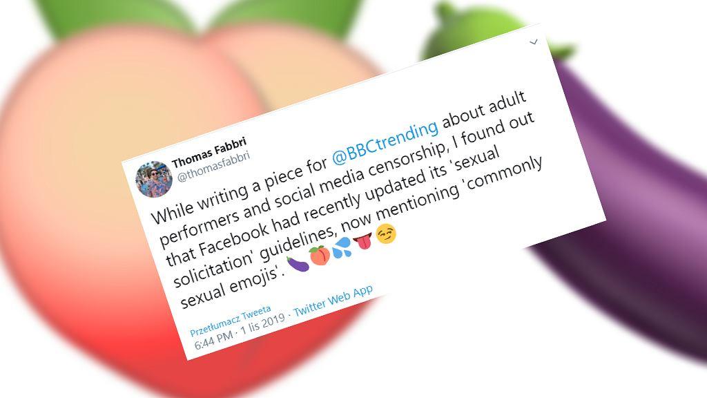 Facebook banuje za emoji