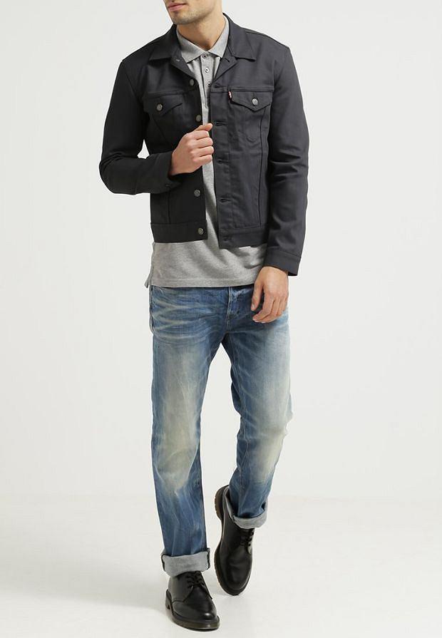 Randki kurtki jeansowe Levi