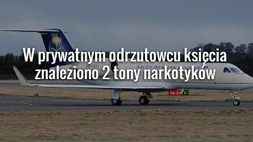 (Samolot na zdjęciu nie jest odrzutowcem saudyjskiego księcia)