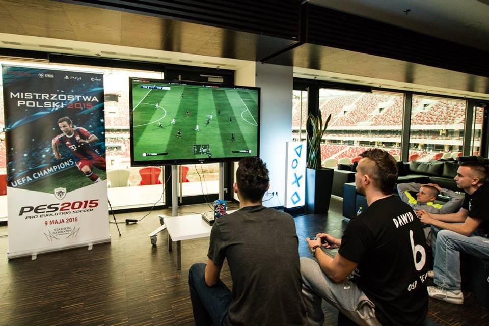 Mistrzostwa Polski w Pro Evolution Soccer na Stadionie Narodowym