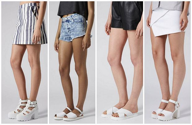 HIT: białe buty