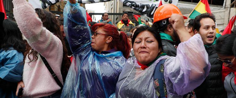 Prezydent Boliwii Evo Morales ogłosił swoją dymisję. Zmusiły go do tego protesty