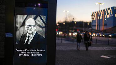 Gdansk zegna Prezydenta Pawla Adamowicza