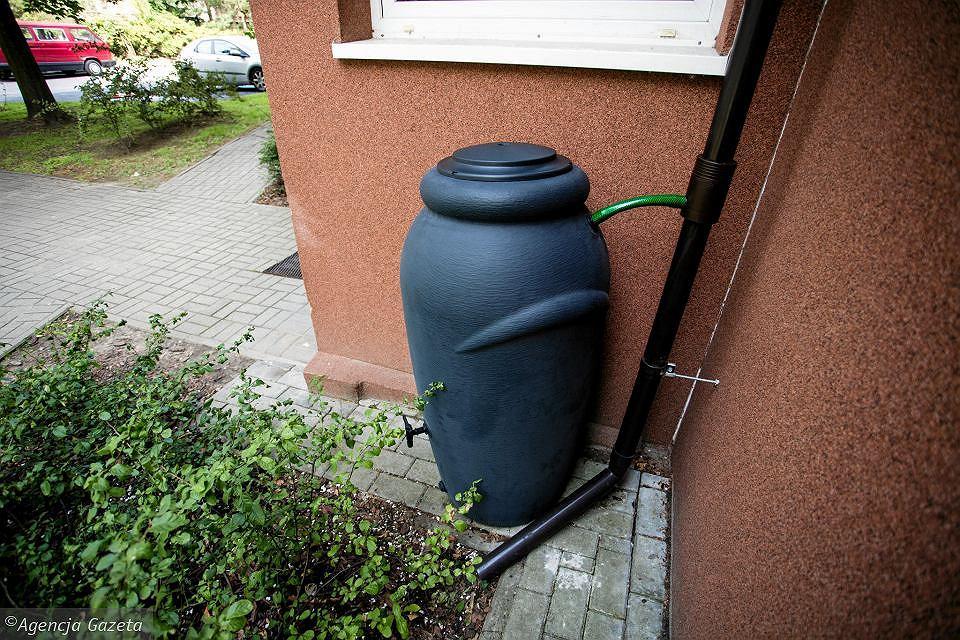 Pojemnik na zbieranie deszczówki, warto takie mieć