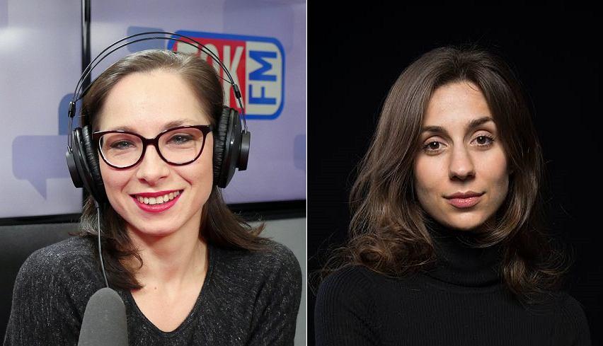 od lewej: Katarzyna Szymielewicz i Cveta Dimitrova - autorki podcastów tokfm.pl