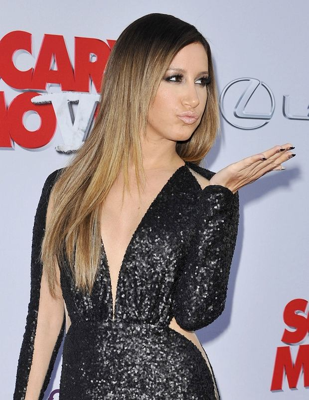"Pictured: Ashley Tisdale<br> Mandatory Credit ?? Adhemar Sburlati/Broadimage<br> Film Premiere of ""Scary Movie 5""<br> <P> 4/11/13, Los Angeles, California, United States of America<br> <P> <B>Broadimage Newswire</B><br> Los Angeles 1+ (310) 301-1027<br> New York 1+ (646) 827-9134<br> sales@broadimage.com<br> http://www.broadimage.com<br>"