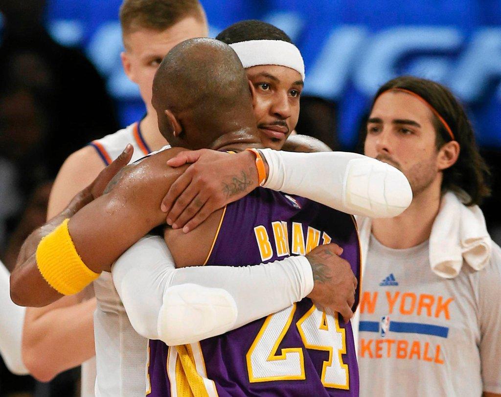 Kobe Bryant i Carmelo Anthony