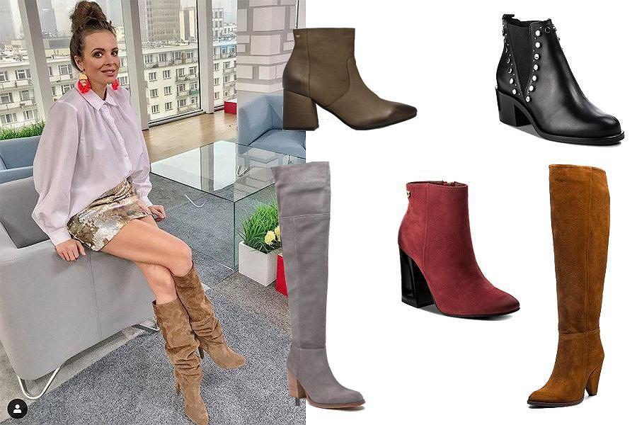 eleganckie buty na zimę / mat. partnera