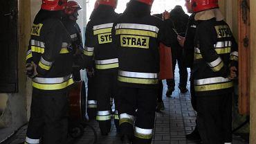 Akcja straży pożarnej