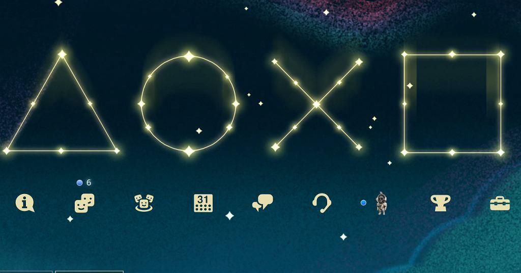 Świąteczny Motyw w PlayStation