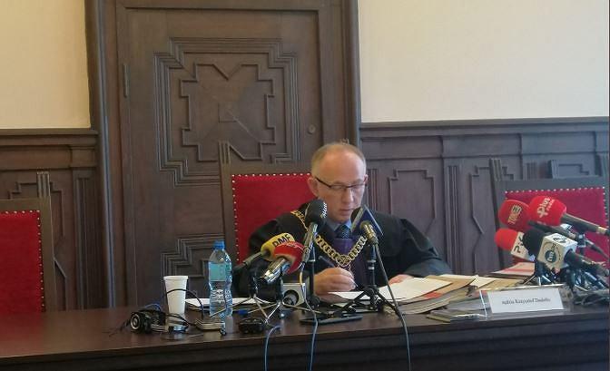 Sąd wydał wyrok ws. tragedii na otrzęsinach na uniwersytecie w Bydgoszczy