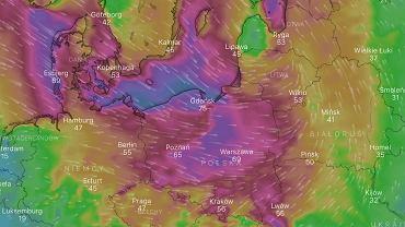 Do Polski nadciąga wichura