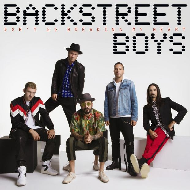 Backstreet Boys - 'Don't Go Breaking My Heart'