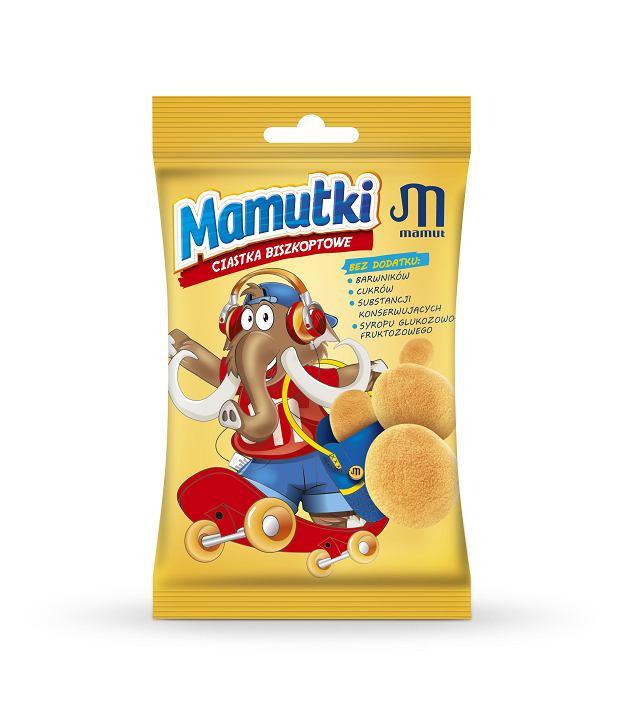 MAMUTKI - CIASTKA BISZKOPTOWE- MAMUT POLSKA S.A.