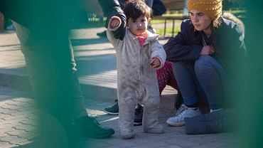 Michałowo. Uchodźcy pod placówką SG błagają, żeby nie wywozić ich na Białoruś