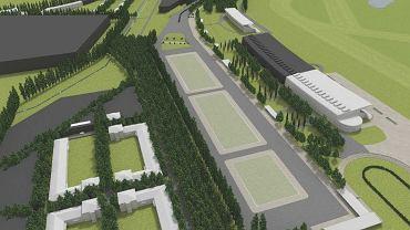 Koncepcja zagospodarowania terenu Toru Wyścigów Konnych Służewiec