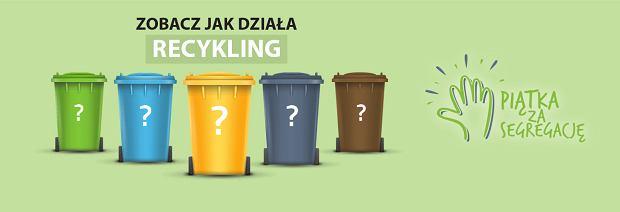 Na stronie naszesmieci.mos.gov.pl znajdują się informacje dotyczące nowych zasad segregacji odpadów