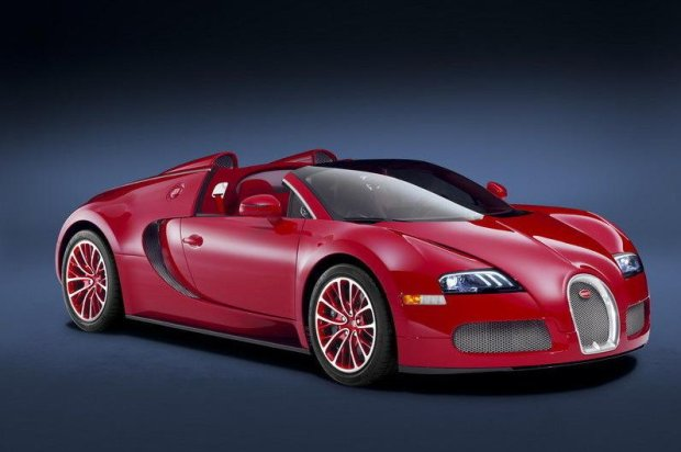 Bugatti Veyron Grand Sport Red Edition 2011