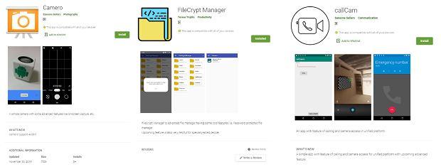 Złośliwe aplikacje szpiegujące z Google Play