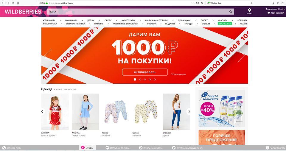 a1d720f301 Największy sklep internetowy Rosji chce do Polski. Będziemy przyczółkiem w  UE dla firmy miliarderki