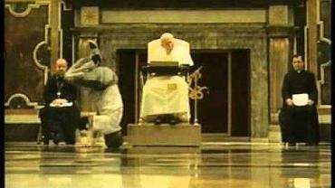 B-boye tańczą przed papieżem