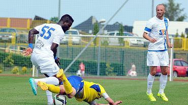Lech Poznań - Atlantas Kłajpeda 2:0 w sparingu w Gniewinie. Abdul Aziz Tetteh