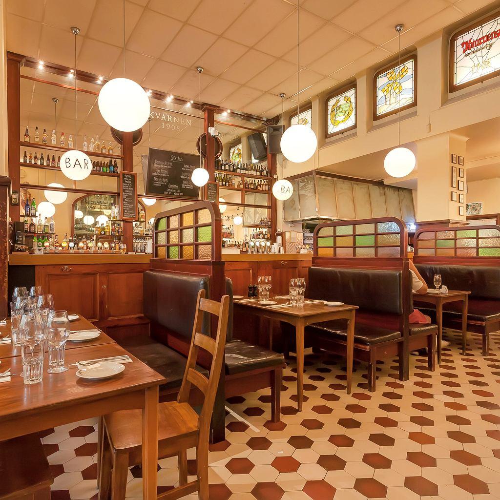 Sztokholm, restauracja Kvarnen