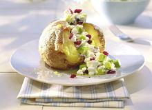 Pieczone ziemniaki z dipem żurawinowym - ugotuj