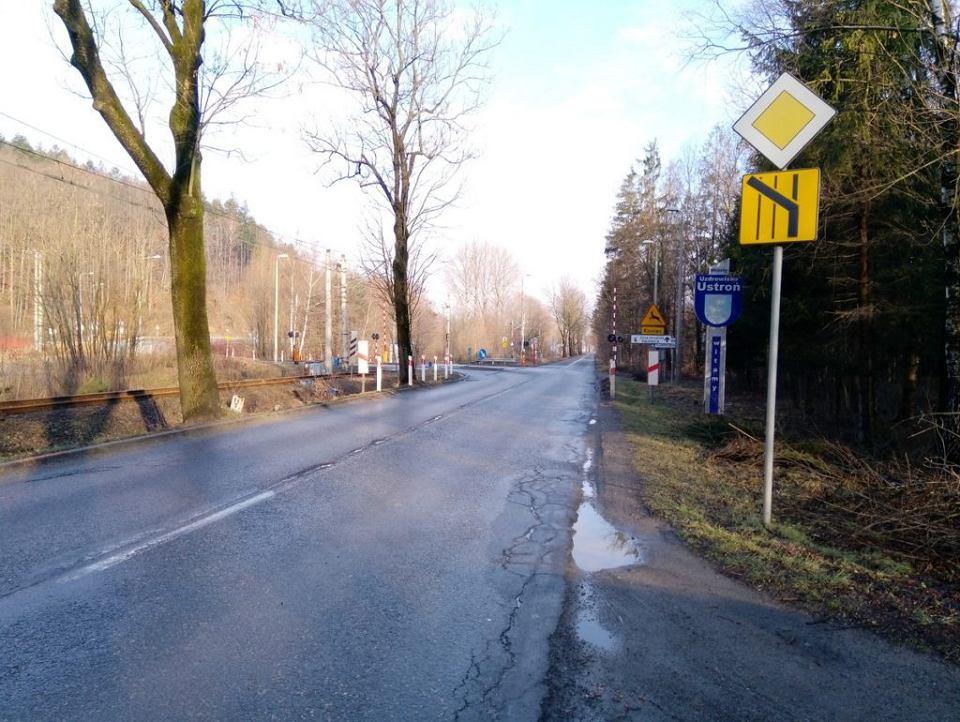 Droga wojewódzka nr 941 przed przebudową