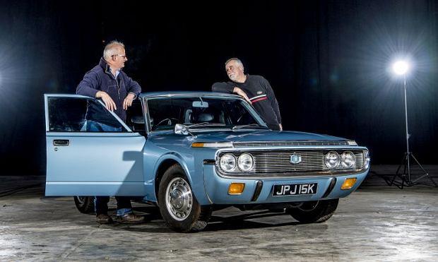 45-letnia Toyota Crown De Luxe