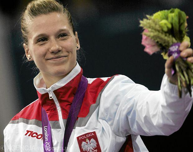 Natalia Partyka ze złotym medalem paraolimpijskim w Londynie