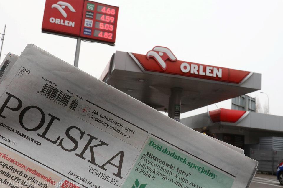 PKN Orlen przejął tytuły prasowe Polska Press.