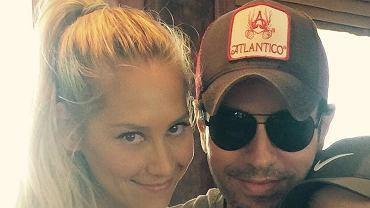 Anna Kurnikowa i Enrique Iglesias spodziewają się dziecka. To będzie trzecia pociecha pary
