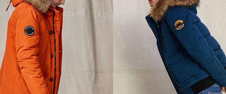 Gigantyczna wyprzedaż zimowych kurtek Superdry! Mamy hity, które kupisz teraz za bezcen