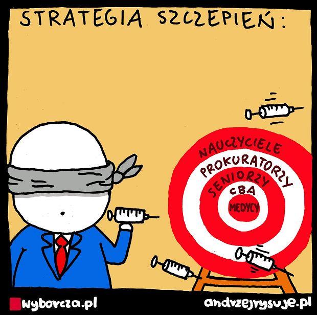 Andrzej Rysuje | Strategia - Andrzej Rysuje, 22.01.2021 -