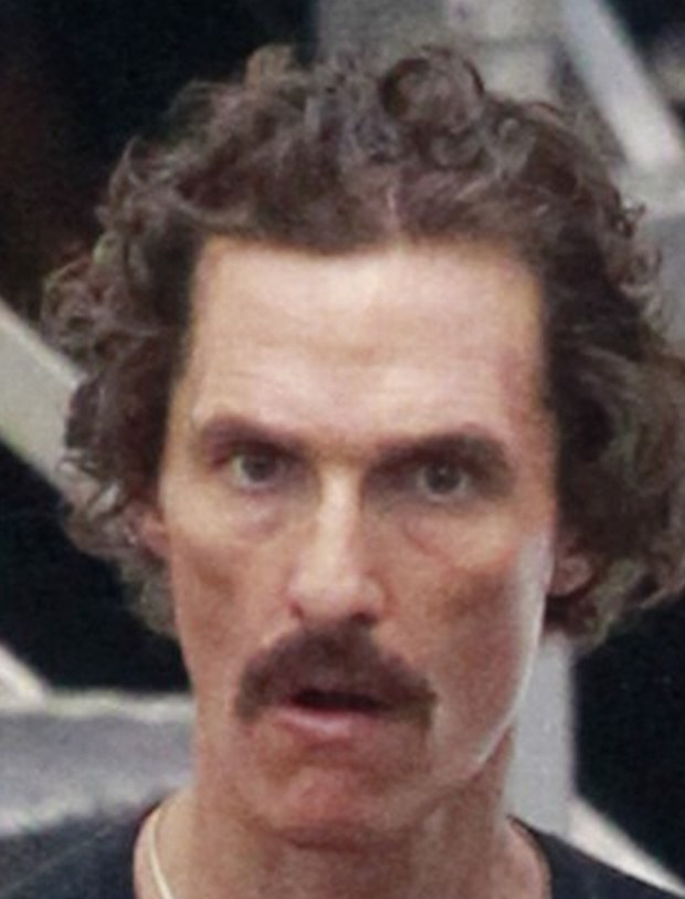 87115, NEW ORLEANS, LOUSIANA - Thursday November 15, 2012. Actor Matthew McConaughey shows off his scary skinny physique as he films for the 'Dallas Buyers Club' in New Orleans.  Photograph: ?? PacificCoastNews.com **FEE MUST BE AGREED PRIOR TO USAGE** **E-TABLET/IPAD & MOBILE PHONE APP PUBLISHING REQUIRES ADDITIONAL FEES** LOS ANGELES OFFICE: +1 310 822 0419 LONDON OFFICE: +44 20 8090 4079