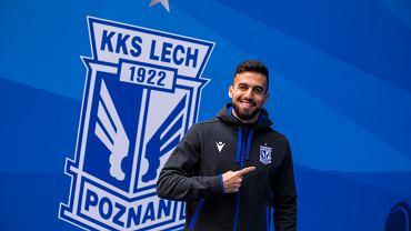Dani Ramirez piłkarzem Lecha Poznań