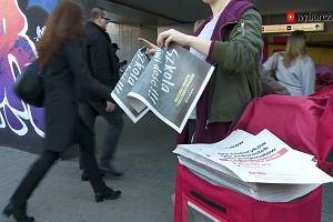 """Strajk nauczycieli. Rozdajemy """"Gazetę Suwerena"""""""