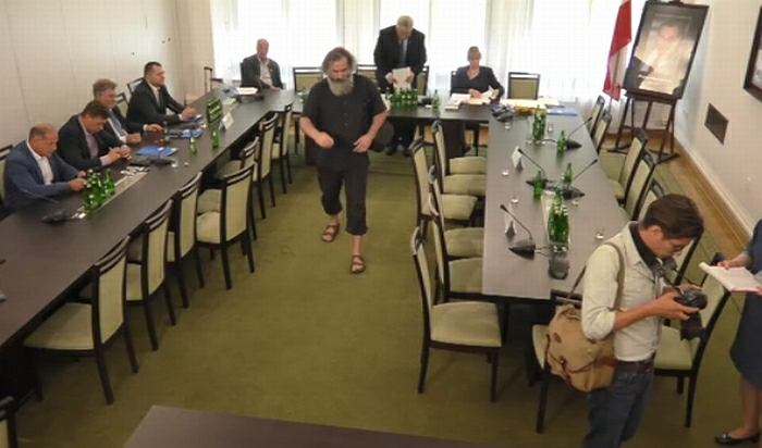 Posiedzenie Komisji Praw Człowieka, Praworządności i Petycji, opiniowanie kandydatów na ławników SN