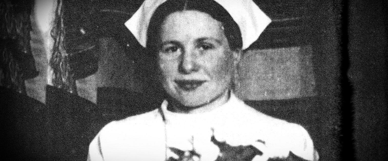 Irena Sendlerowa w Wigilię Bożego Narodzenia 1944 r. (fot. Wikimedia.org / Domena publiczna / Marta Kondrusik / Gazeta.pl)