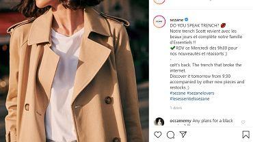 Najpopularniejszy wiosenny trencz znów w sprzedaży. Lista oczekujących na beżowy płaszcz to 10 tys. osób