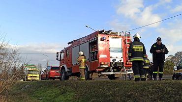 Wypadek na drodze nr 632