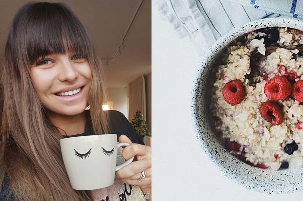 Szybki pomysł na zdrowe śniadanie? Wypróbuj owocowej owsianki według przepisu Anny Lewandowskiej